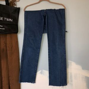 The Vintage Twin Customized Straight-Leg Jeans